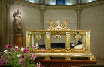 Châsse de Sainte Bernadette Soubirous