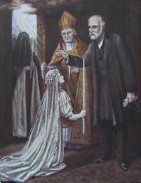 Bénédiction du père de Sainte-Thérèse à sa fille