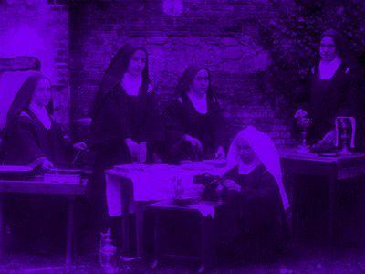 Thérèse avec ses soeurs