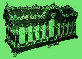 Reliquaire de Sainte-Thérèse de Lisieux