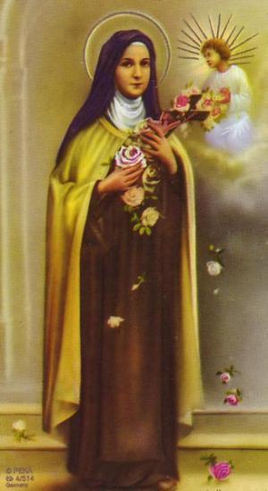 Image pieuse de Sainte-Thérèse