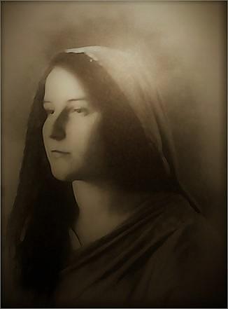 Maria Valtorta jeune, mystique italienne visionnaire
