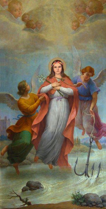St. Philomena - Sainte Philomène, vierge et martyre