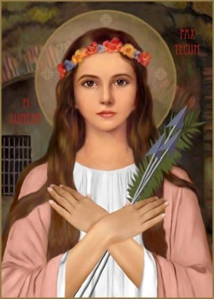 Sainte Philomène - St. Philomena