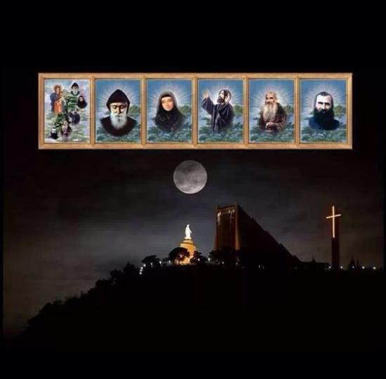 Saints du Liban et Notre-Dame du Liban, Harissa