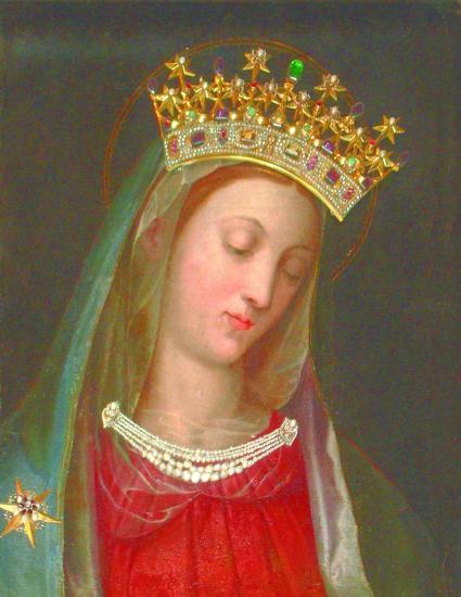 Vierge au Chef incliné, Carmel Vienne Autriche 1