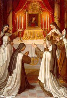 Vierge au Chef incliné, Carmel Vienne Autriche 15