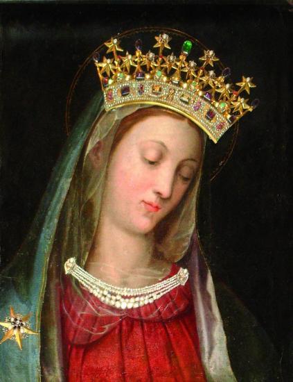 Vierge au Chef incliné, Carmel Vienne Autriche 3