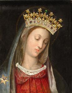 Vierge au Chef incliné, Carmel Vienne Autriche 4