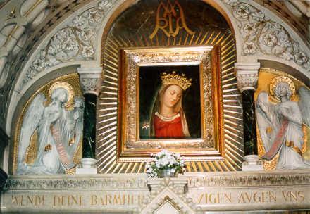 Autel Vierge au Chef incliné, Carmel Vienne (Autriche) 2