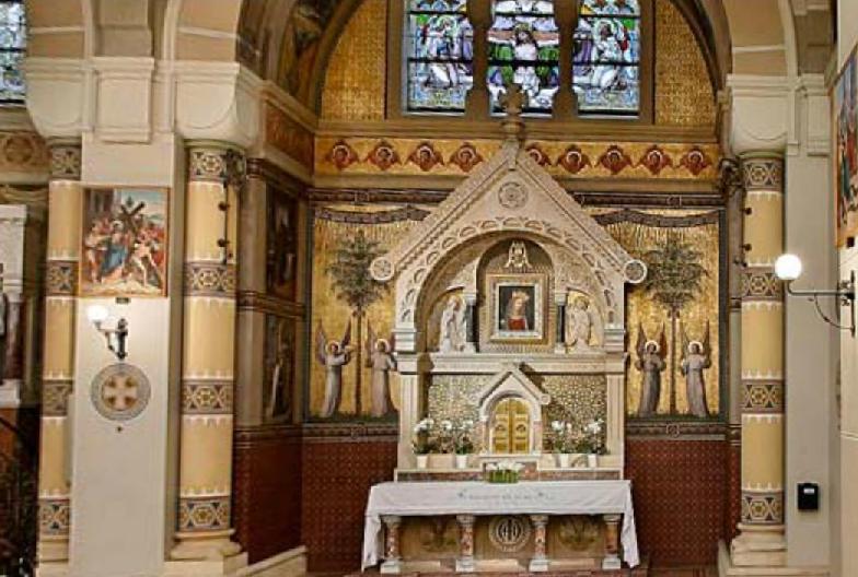 Autel Vierge au Chef incliné, Carmel Vienne (Autriche) 3