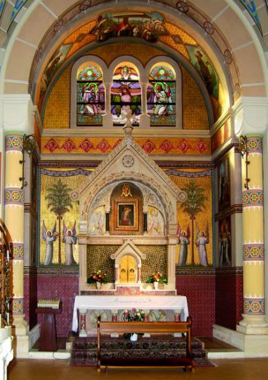 Autel Vierge au Chef incliné, Carmel Vienne (Autriche) 4