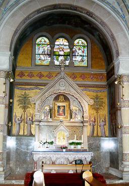 Autel Vierge au Chef incliné, Carmel Vienne (Autriche) 1