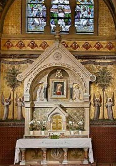 Autel Vierge au Chef incliné, Carmel Vienne (Autriche) 5
