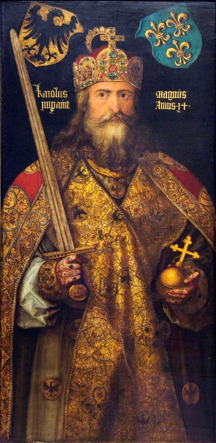 Charlemagne, par Albrecht Dürer (1513)